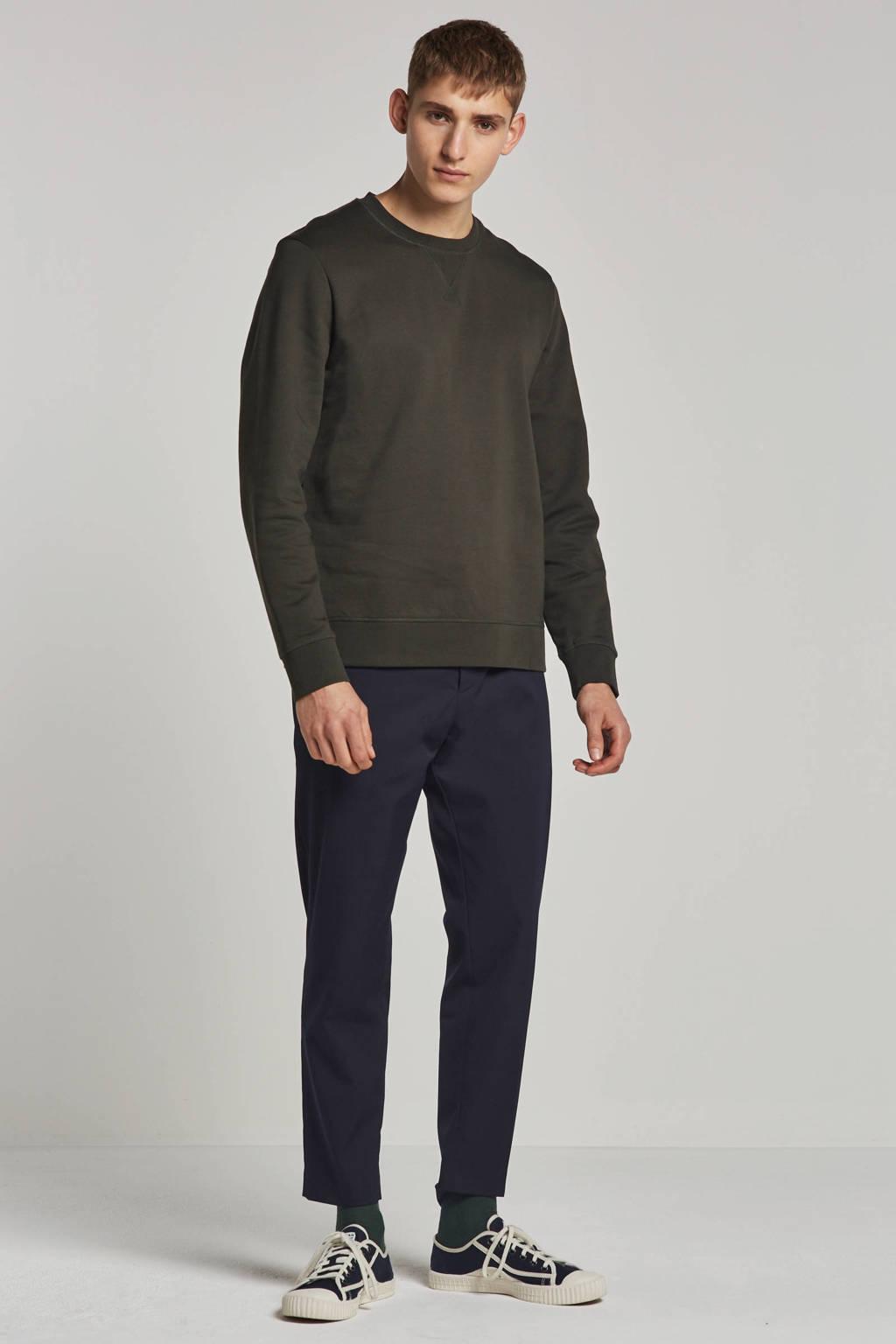 Minimum sweater, Donkergroen