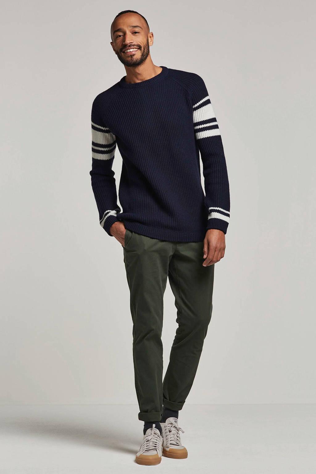 Minimum trui halden, Donkerblauw