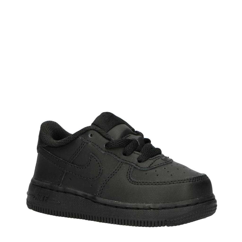 Nike   Air Force 1 (TD) sneakers zwart, Zwart