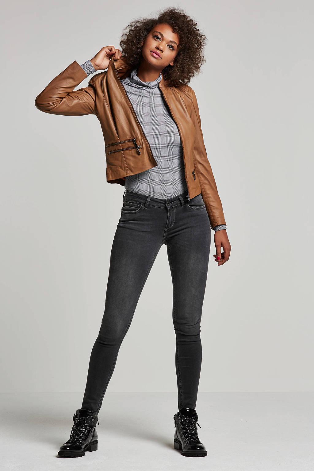 Purewhite The Jazz skinny fit jeans, Zwart