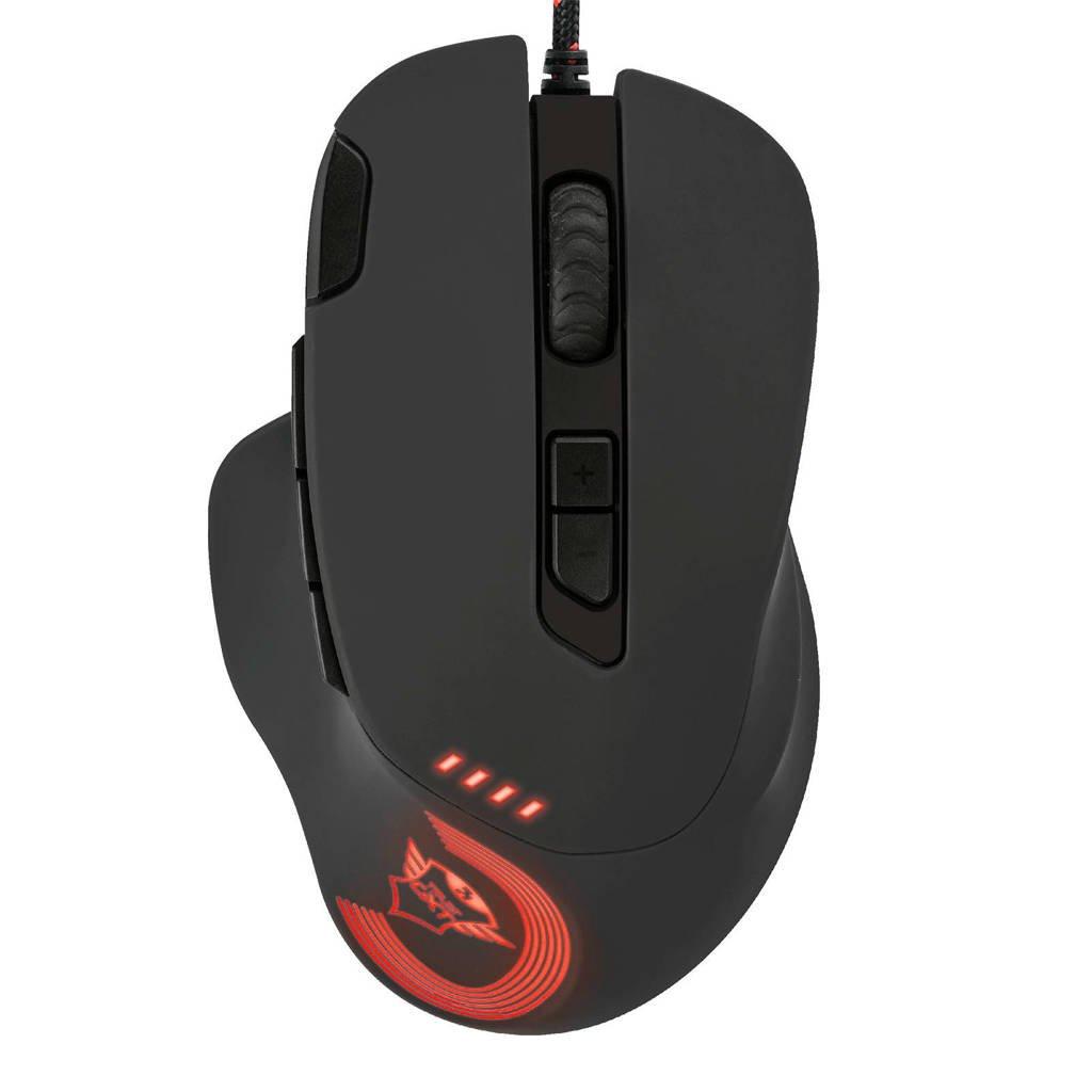 Trust Gaming GXT 162 optical gaming muis, Zwart