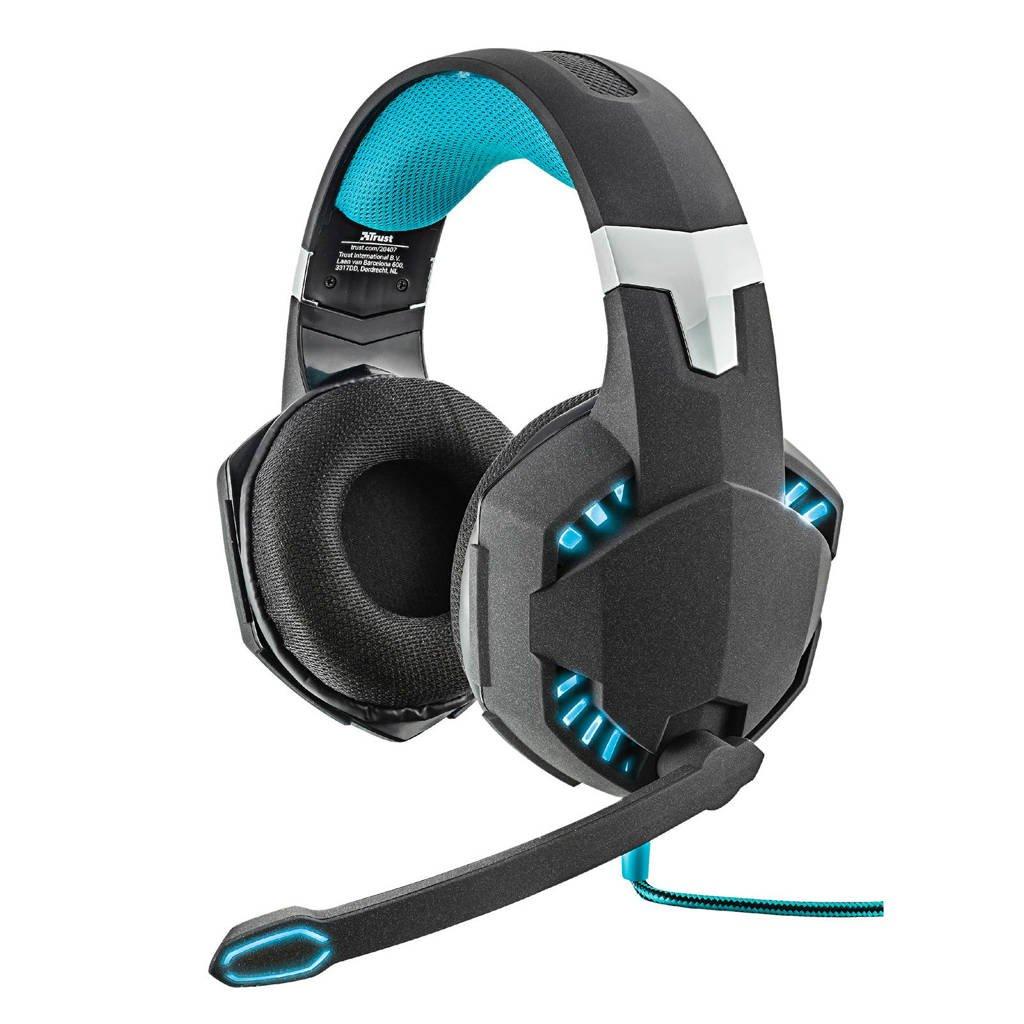Trust Gaming GXT 363 7.1 bass vibration gaming headset, Zwart