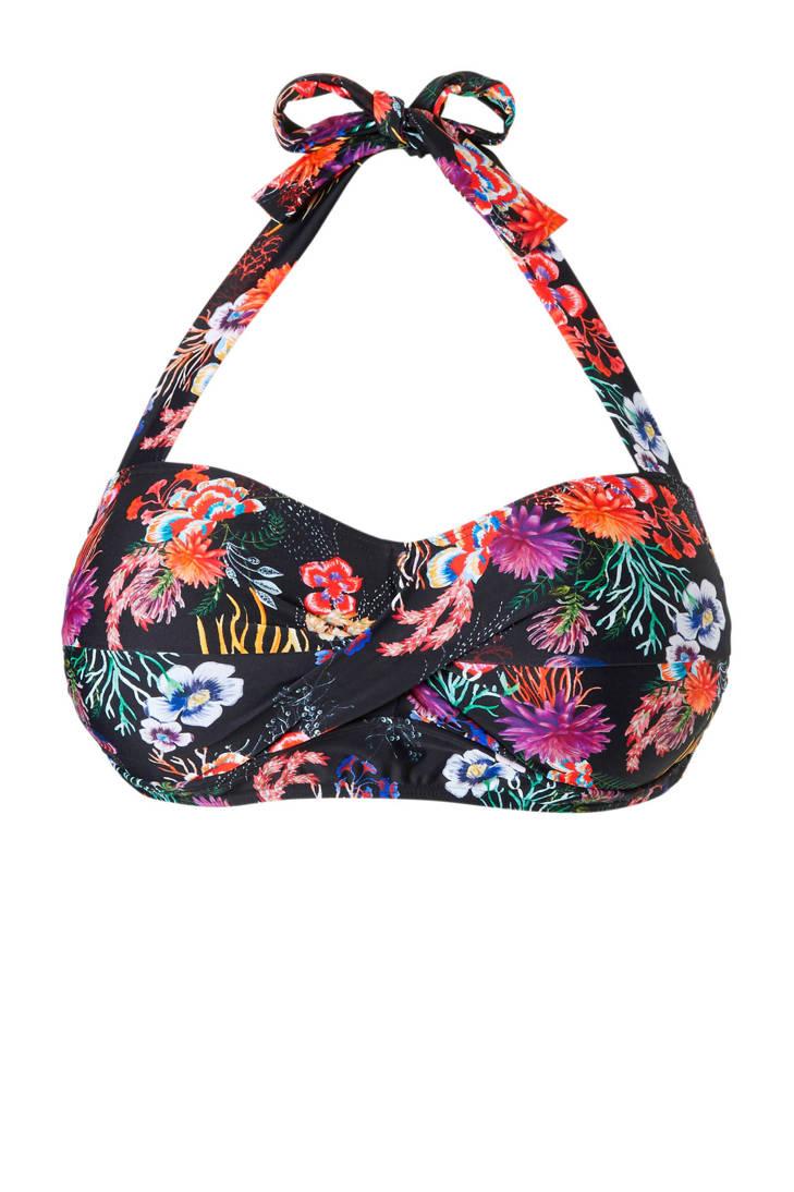 met JUNAROSE met halter bikinitop halter bikinitop JUNAROSE bloemenprint bloemenprint met JUNAROSE bikinitop halter 8PPq4fAw