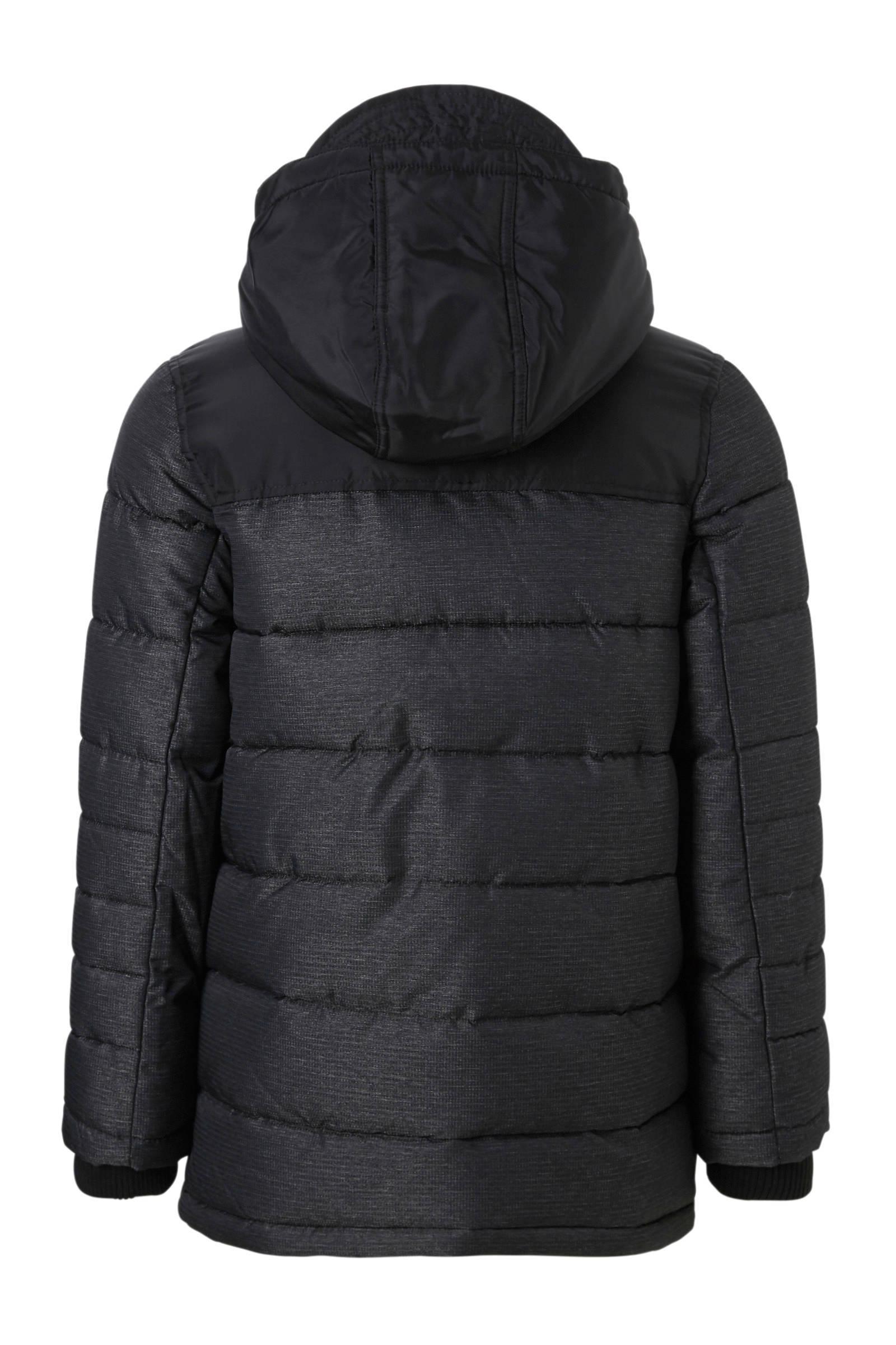 C&A Here & There winterjas zwart | wehkamp