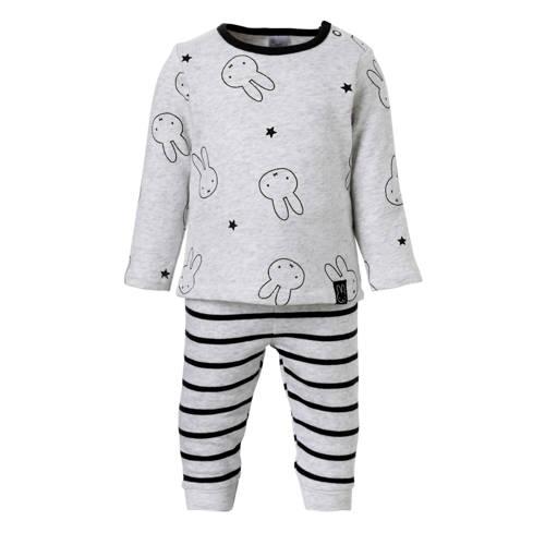 nijntje pyjama grijs