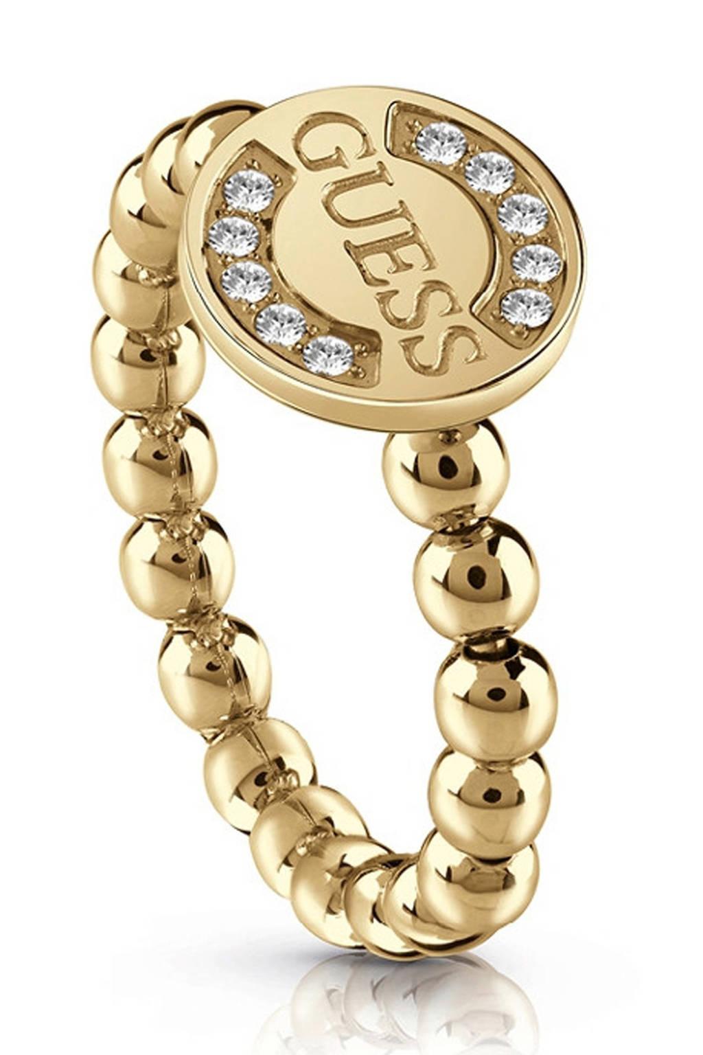 GUESS ring -UBR28010, Goudkleurig
