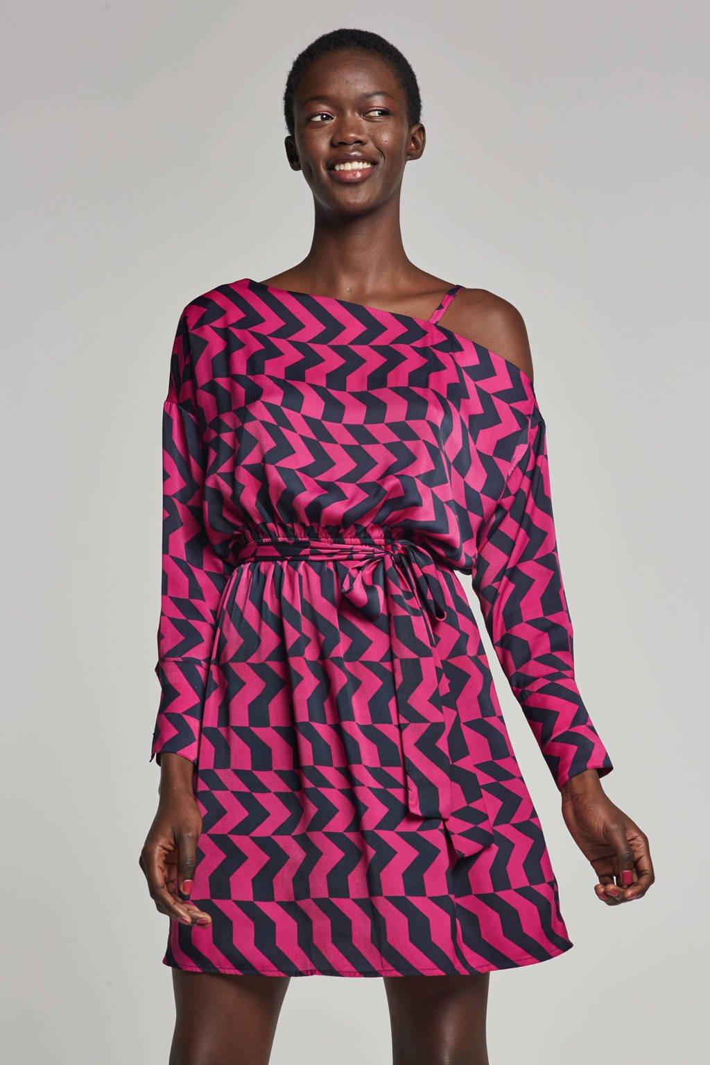 Fifth House jurk met grafische print, Paars