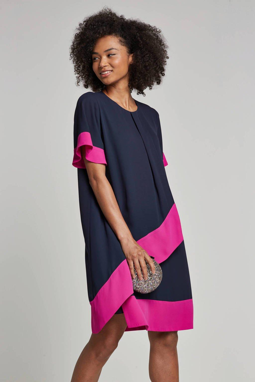 Fifth House jurk, Blauw/roze