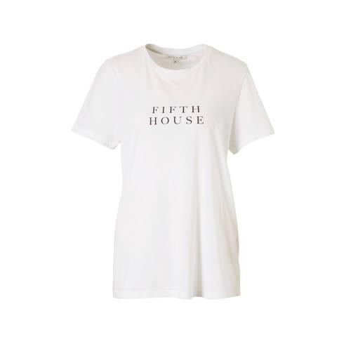 Fifth House T-shirt met logo opdruk kopen