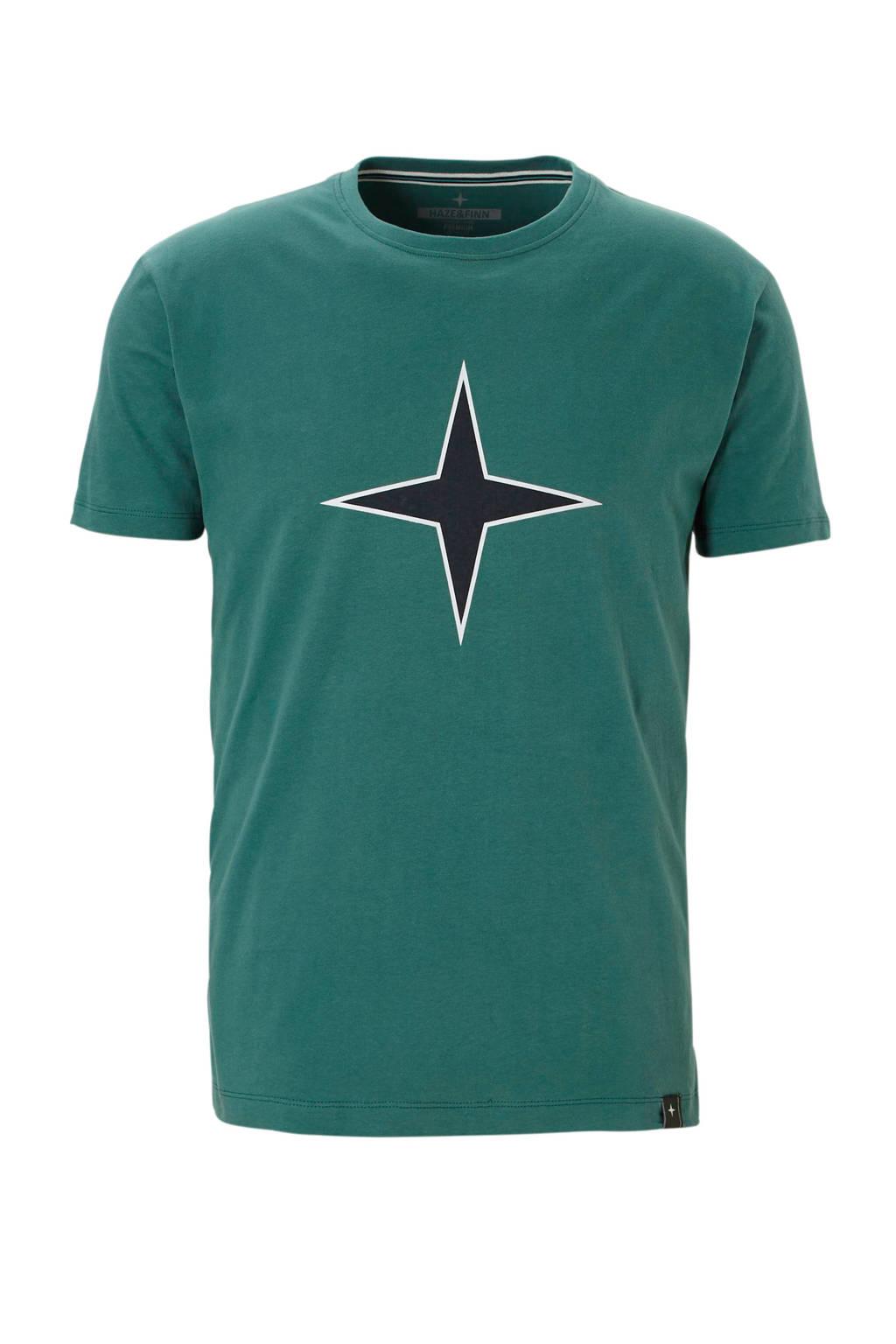 Haze & Finn t-shirt, Groen