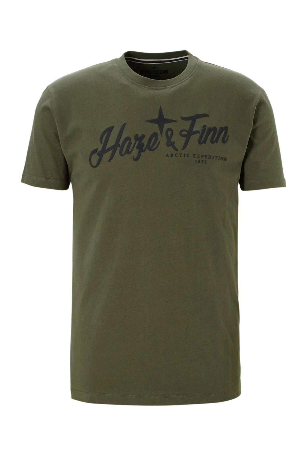 Haze & Finn t-shirt, Kaki