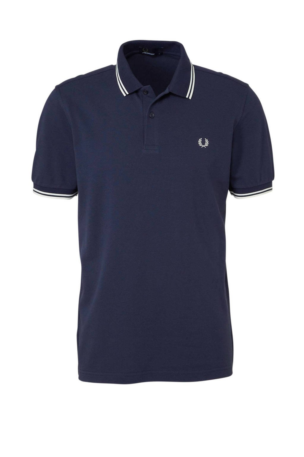 Fred Perry regular fit polo, Marine