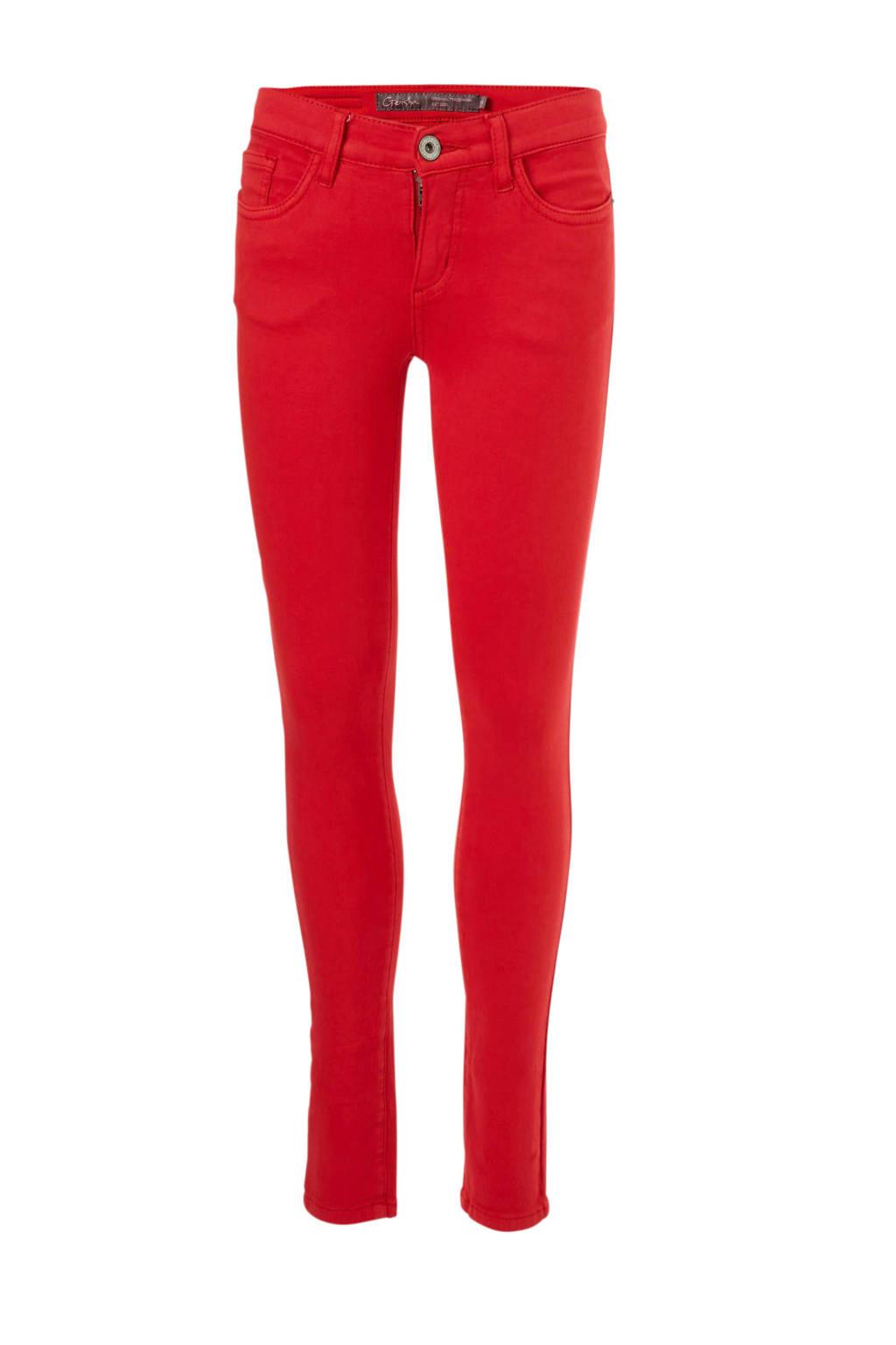 Geisha broek rood, Rood