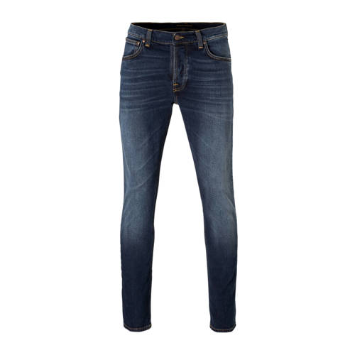 Nudie Jeans slim fit jeans Grim Tim ink navy