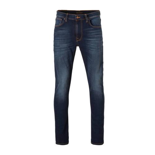 Nudie Jeans slim fit jeans Lean Dean dark deep wor