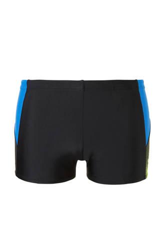 Endurance 10 zwemboxer zwart/blauw