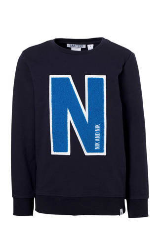sweater N donkerblauw