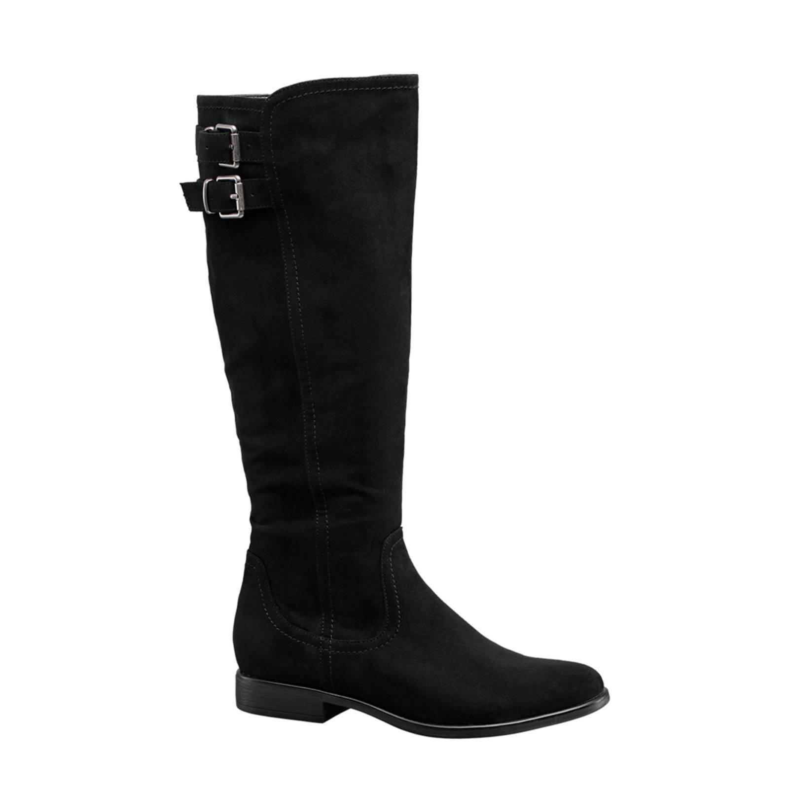 lange laarzen zwart