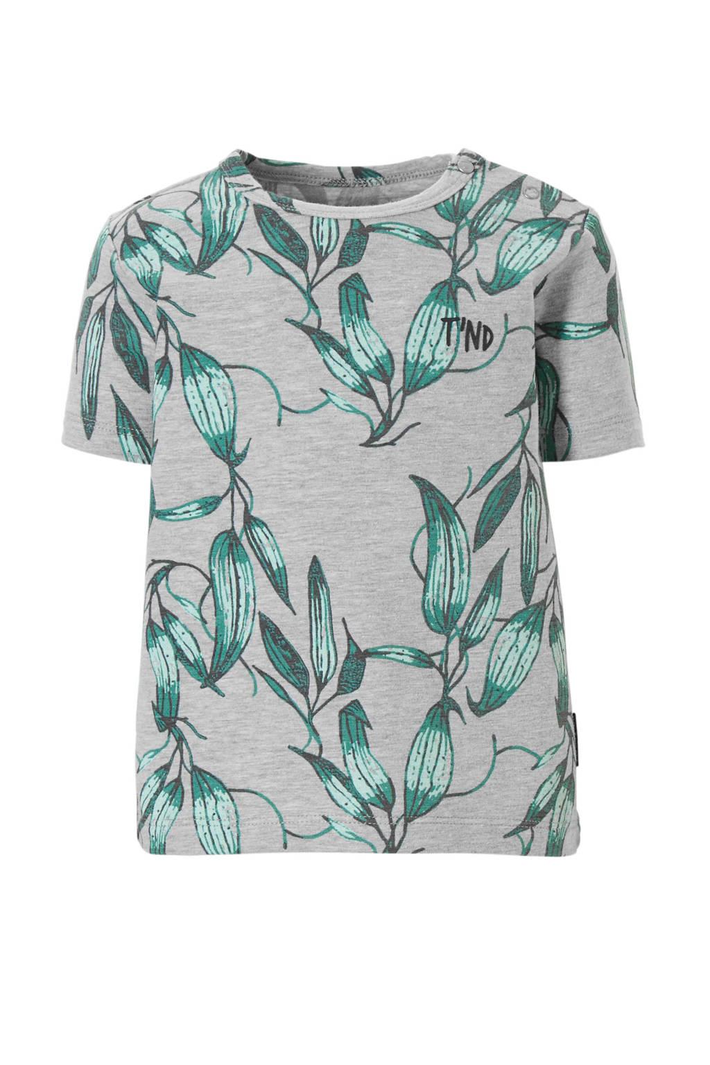Tumble 'n Dry Lo T-shirt Aidan, Licht grijs melange