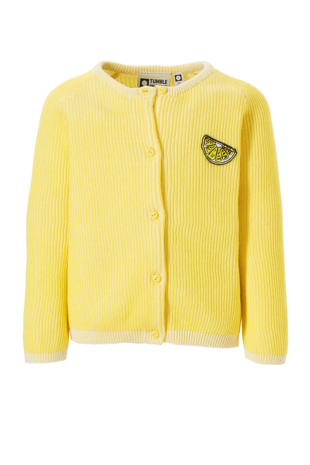 Tumble 'n Dry Lo vest Enos - geel, lemon zest