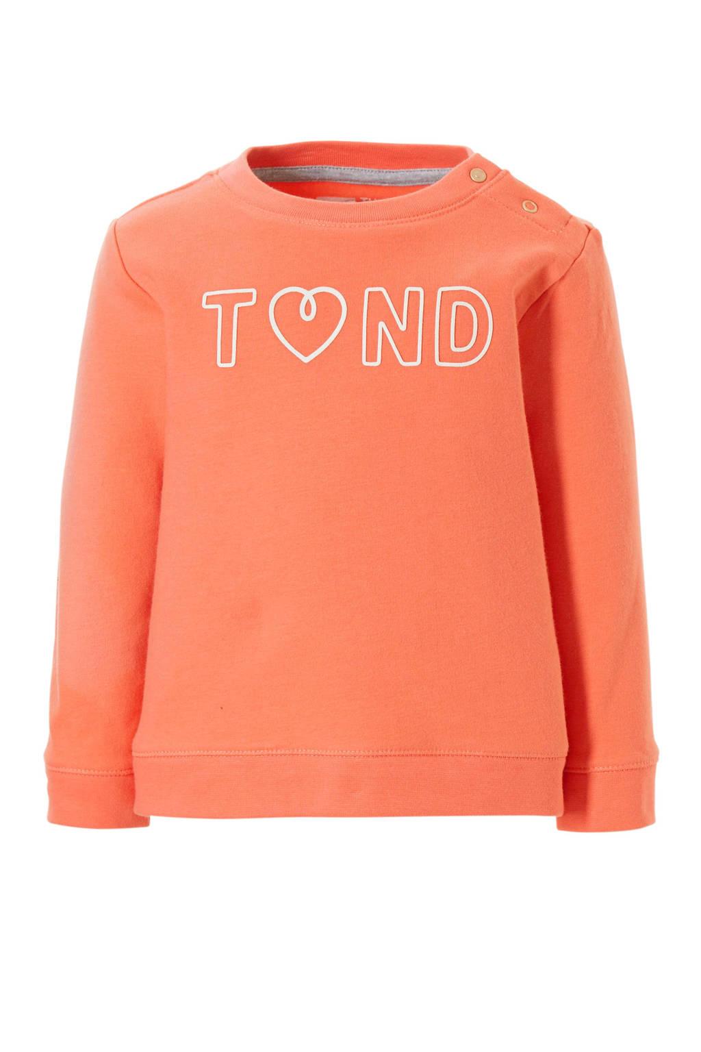 Tumble 'n Dry Lo sweater Ethel, Lichtoranje