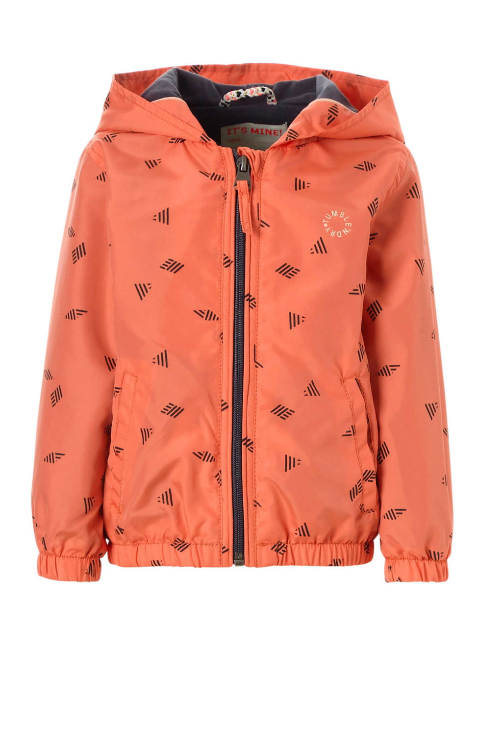 Tumble 'n Dry Lo zomerjas Evana met all over print oranje, Oranjeroze
