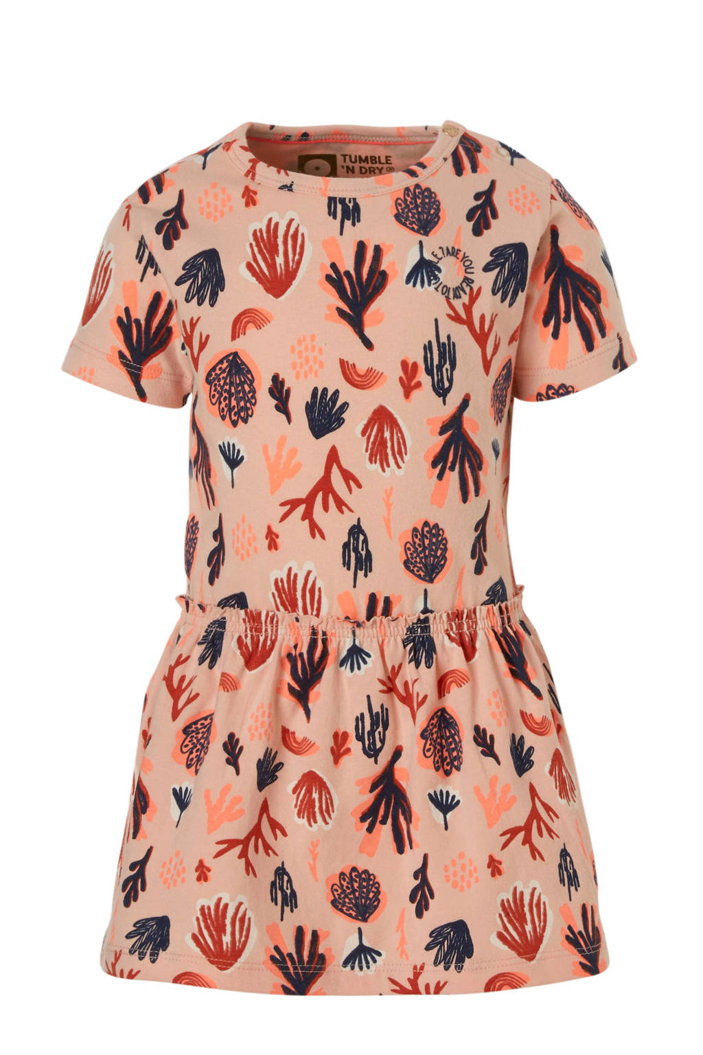Tumble 'n Dry Lo jurk Elissa lichtoranje, Licht oranje