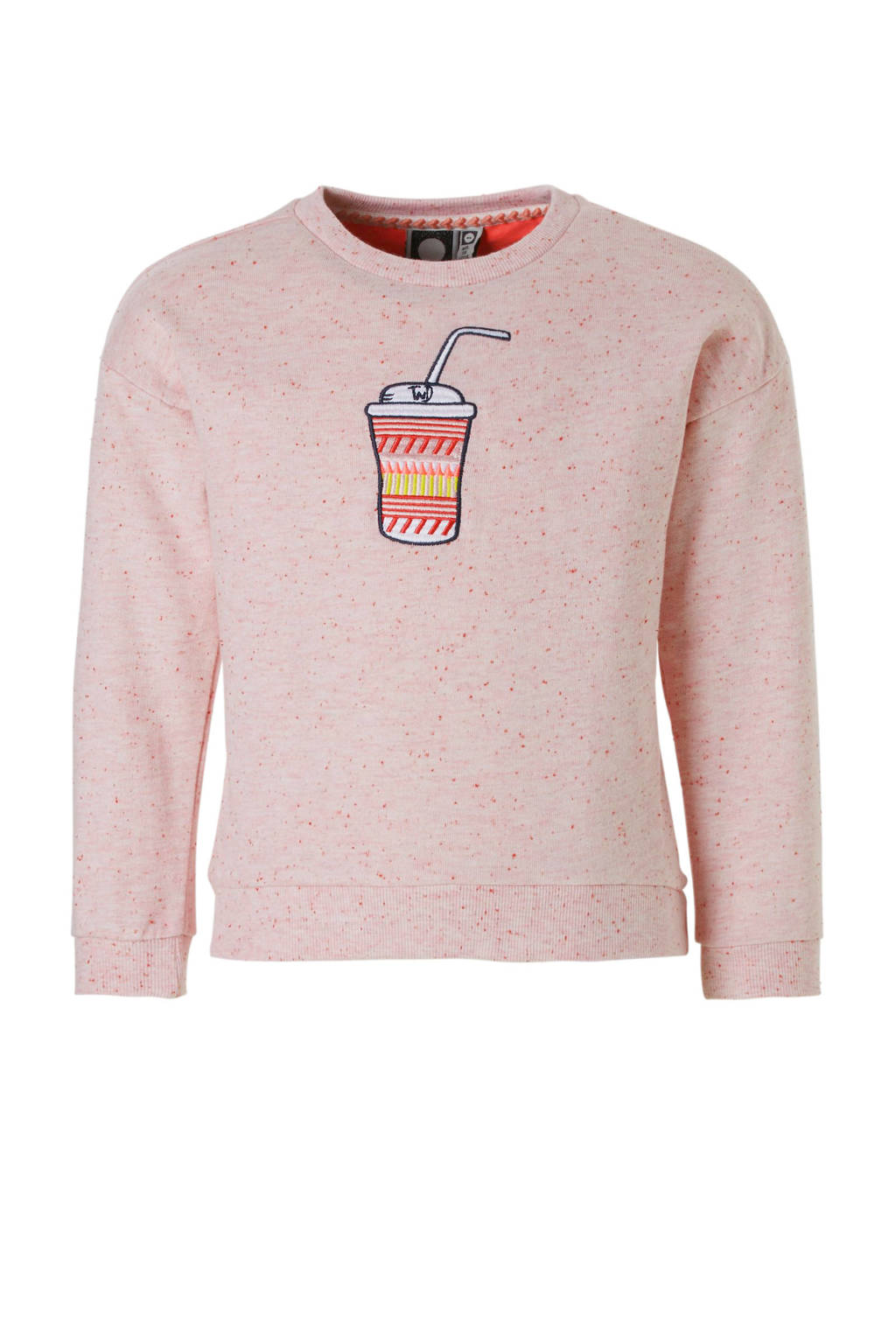 Tumble 'n Dry Mid sweater Cayce lichtroze, Lichtroze