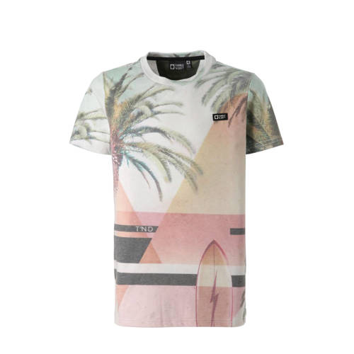 Tumble 'n Dry Hi T-shirt Fino met all over print kopen