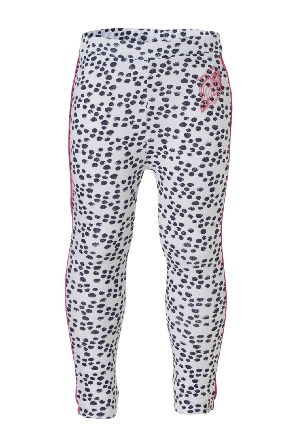 Tumble 'n Dry Lo legging met all over print wit, PAPER WHITE