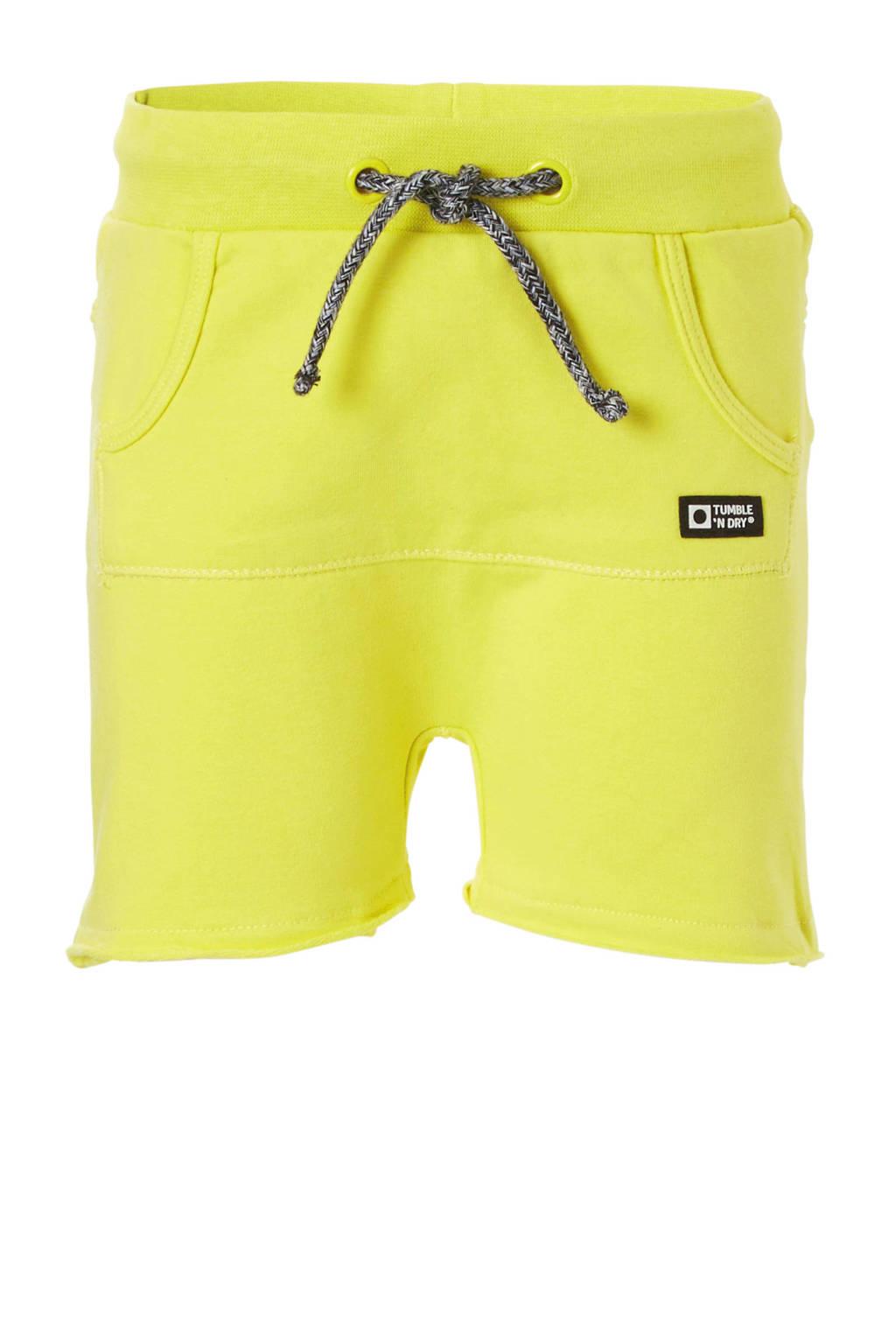 Tumble 'n Dry Lo sweatshort geel, Geel