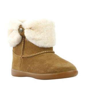 suède boots bruin
