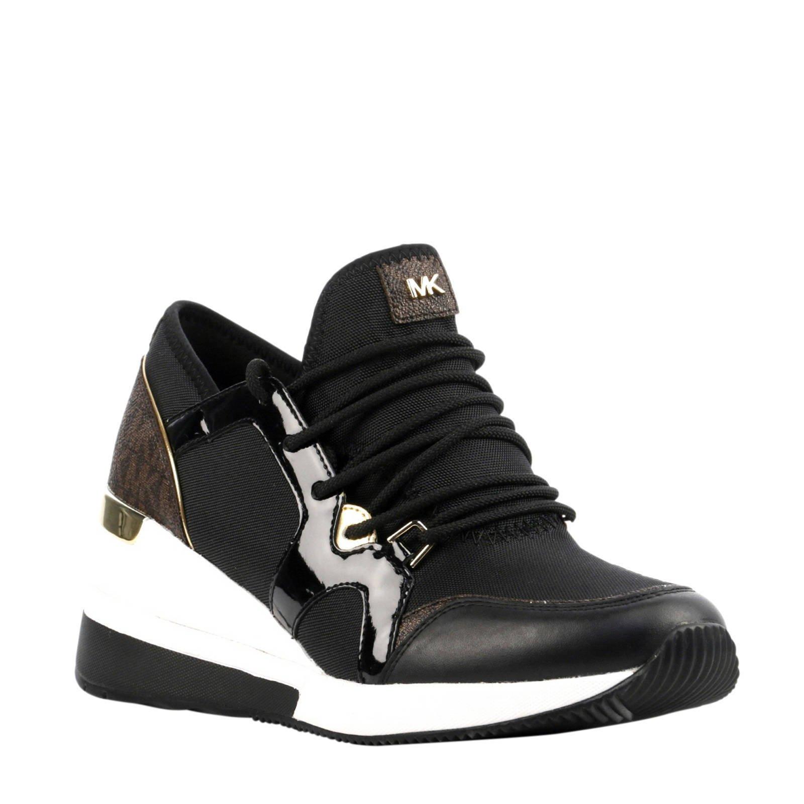 216d01721f7 Michael Kors sneakers met sleehak zwart | wehkamp