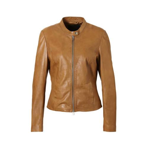Goosecraft schaapsleren jas bruin
