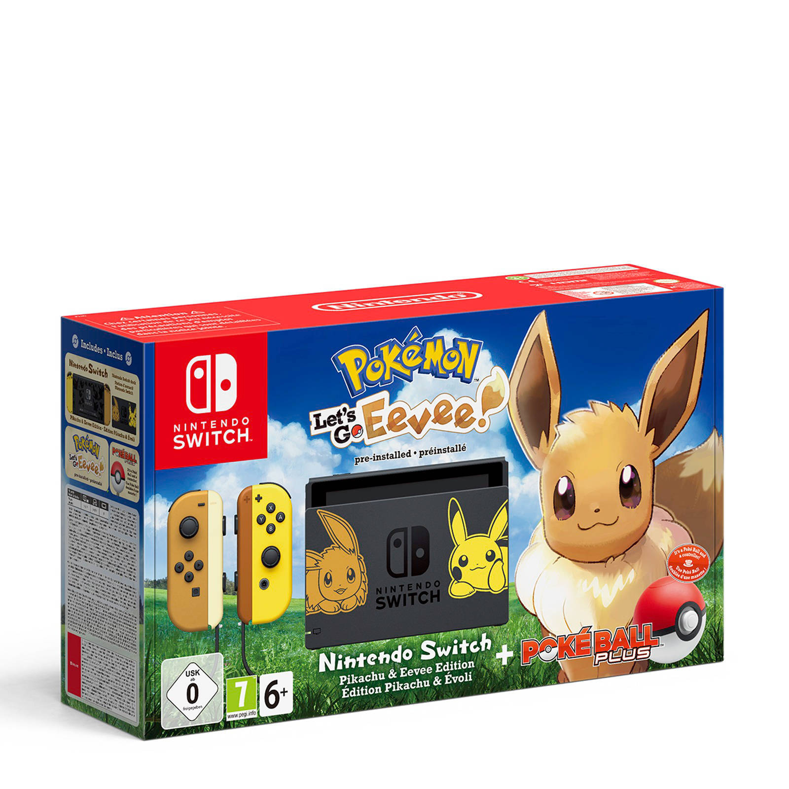 Nintendo Switch  Pokémon Let's Go Eevee bundel