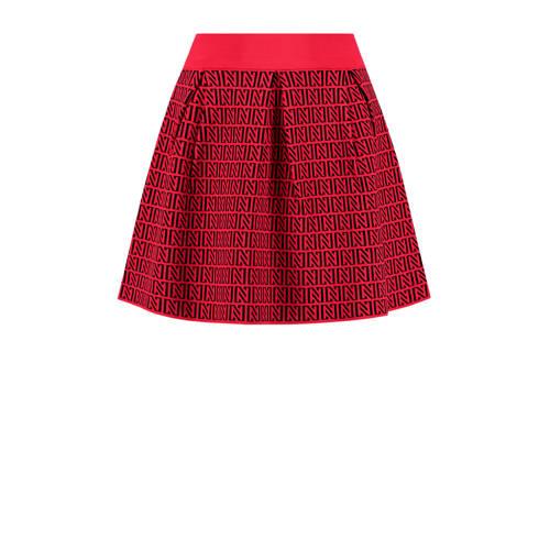 NIKKIE perfect logo rok rood kopen