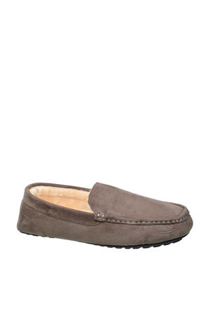 vanHaren Casa Mia pantoffels grijs