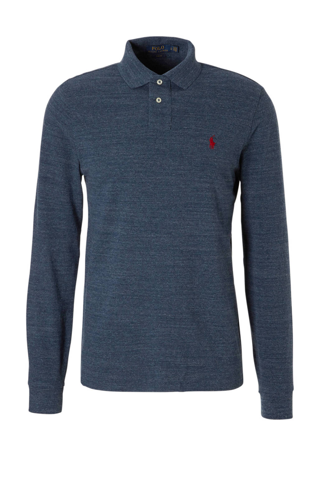 POLO Ralph Lauren slim fit polo, Blauw