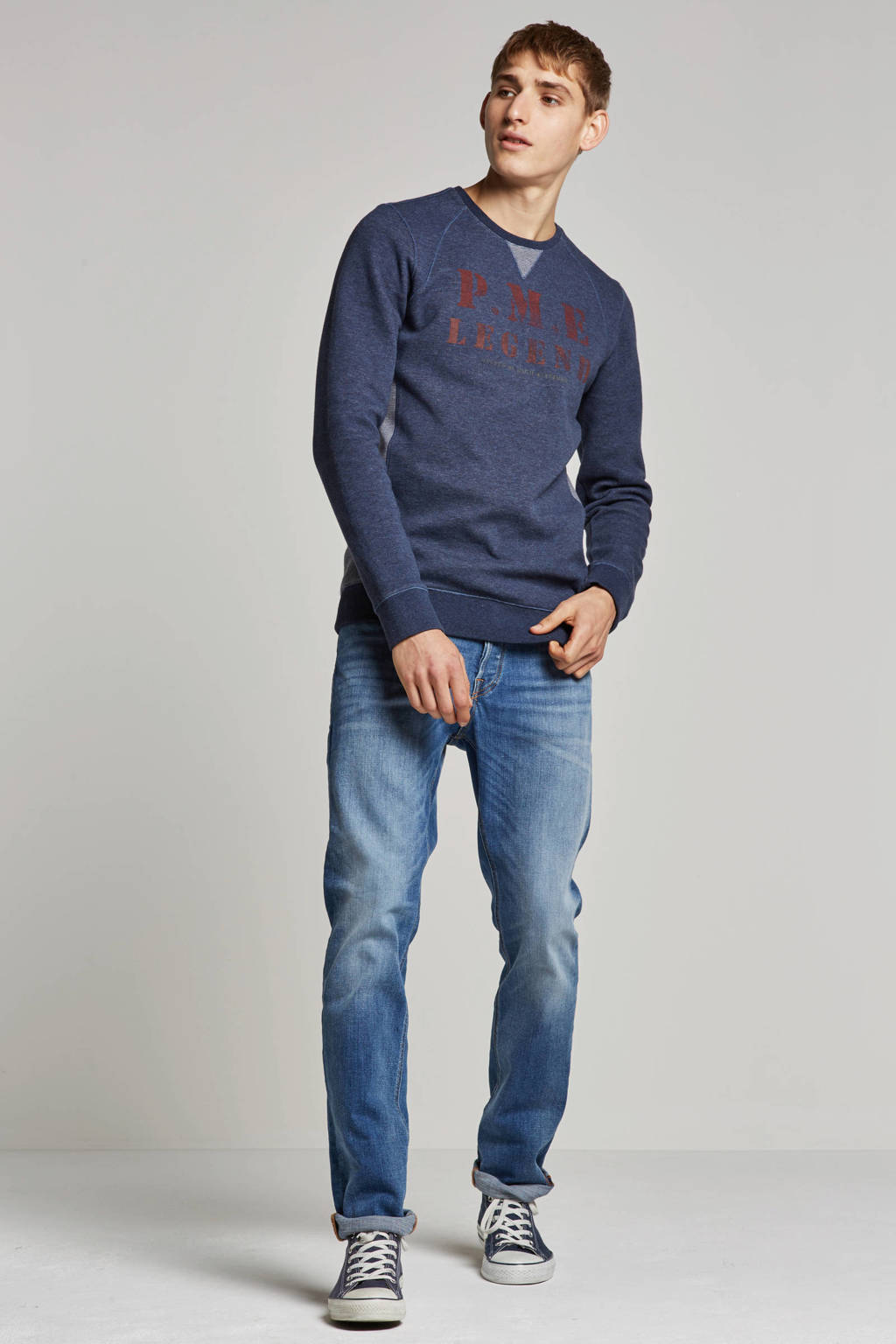 PME Legend sweater, Donkerblauw