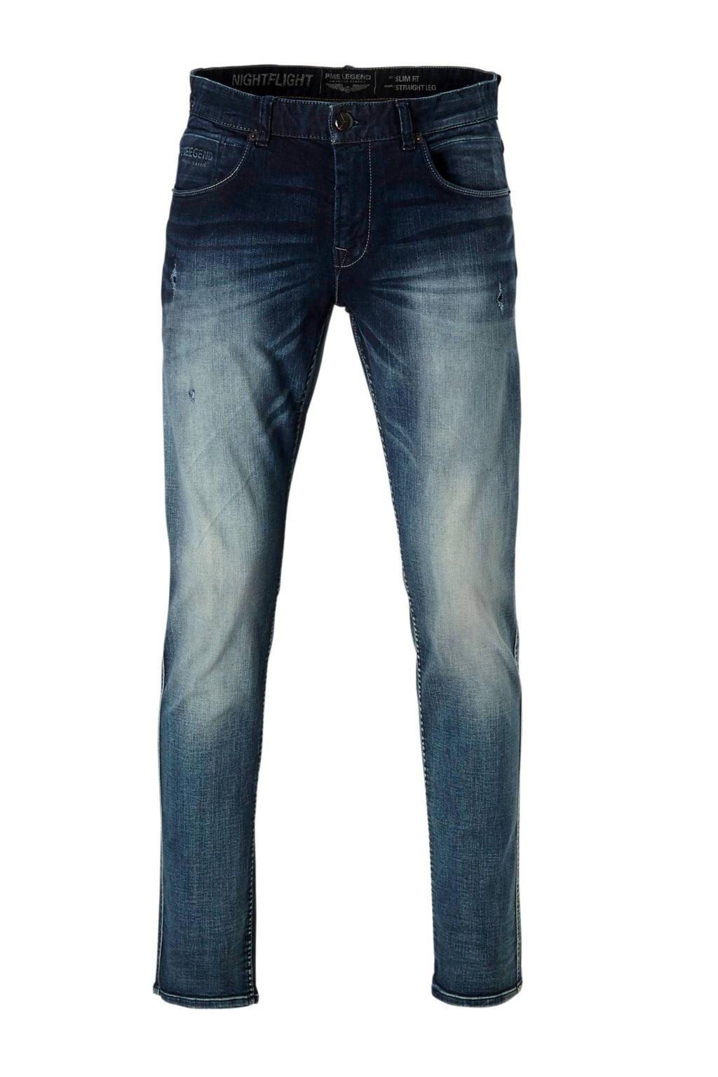PME Legend slim fit jeans Nightflight, Dark denim