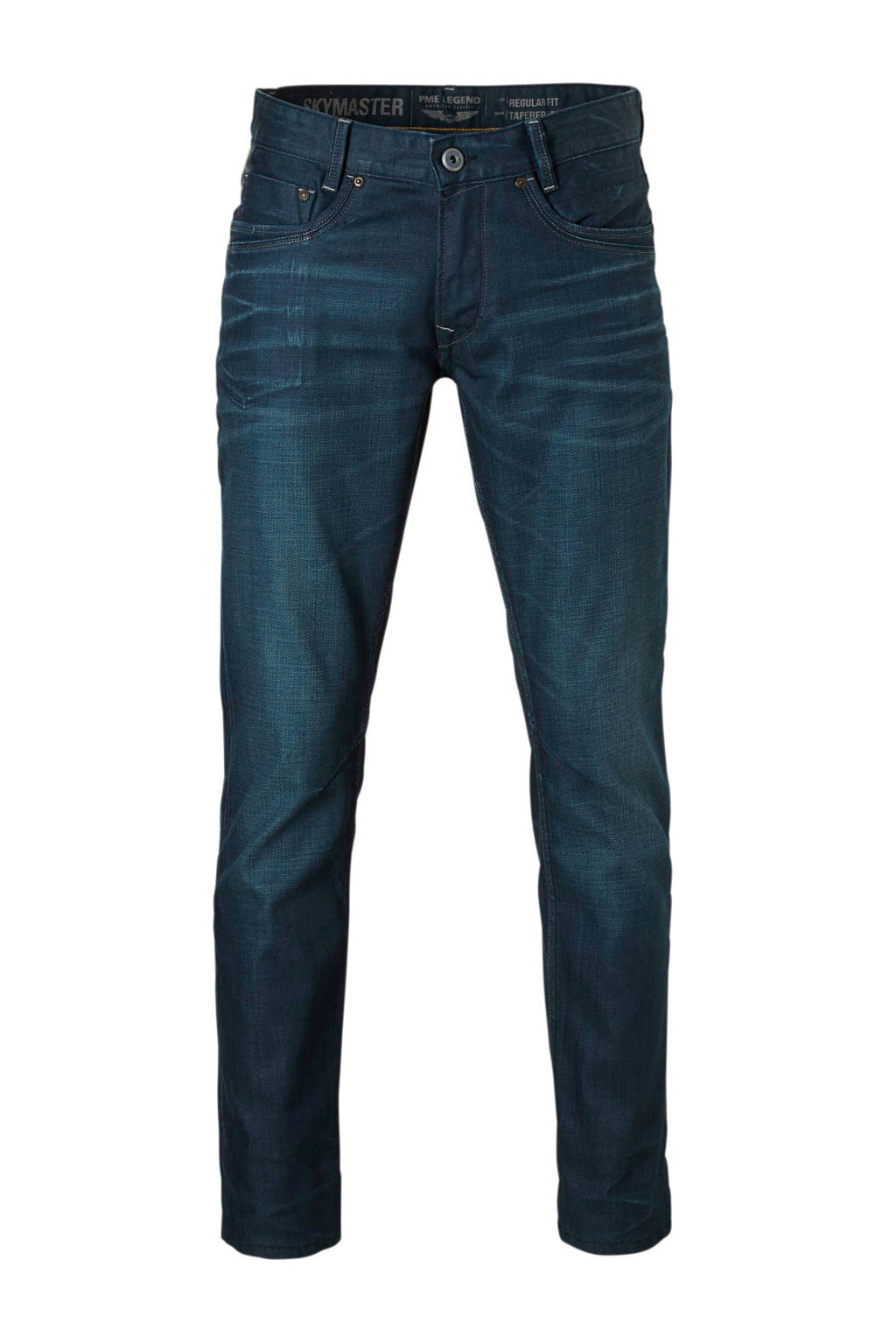 PME Legend tapered fit jeans Skymaster, Dark denim