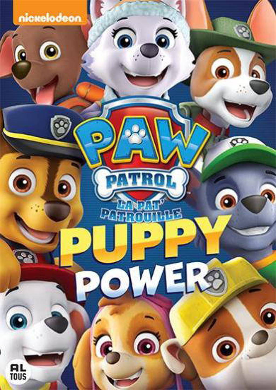 Paw patrol - Puppy power (DVD)