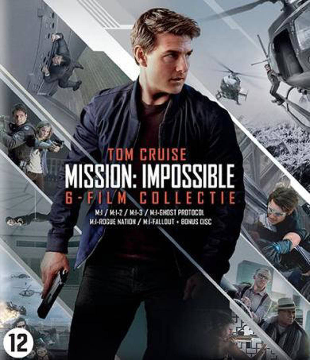 Mission impossible 1-6  (Blu-ray)