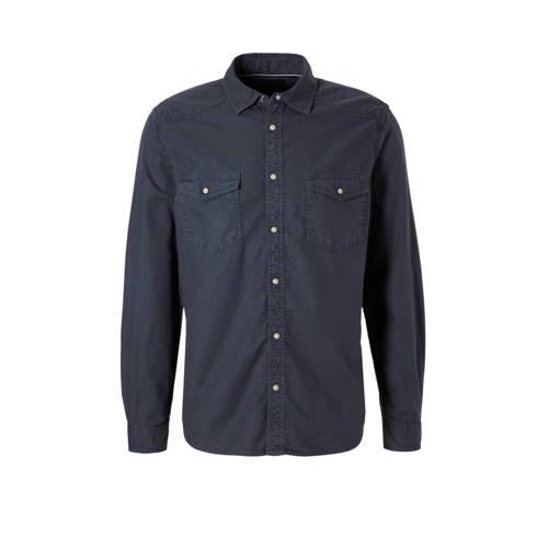 overhemd antraciet