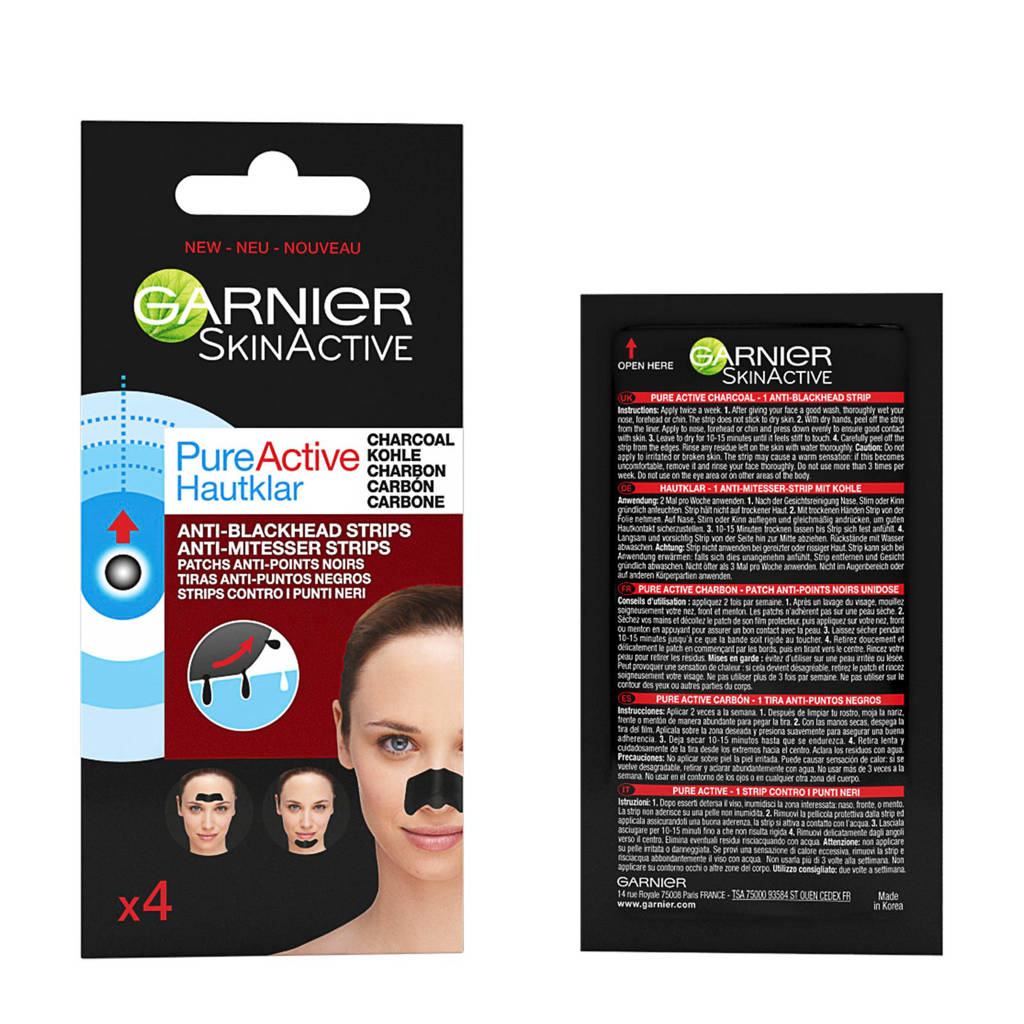 Garnier Skinactive Pure Active Charcoal Nose strips