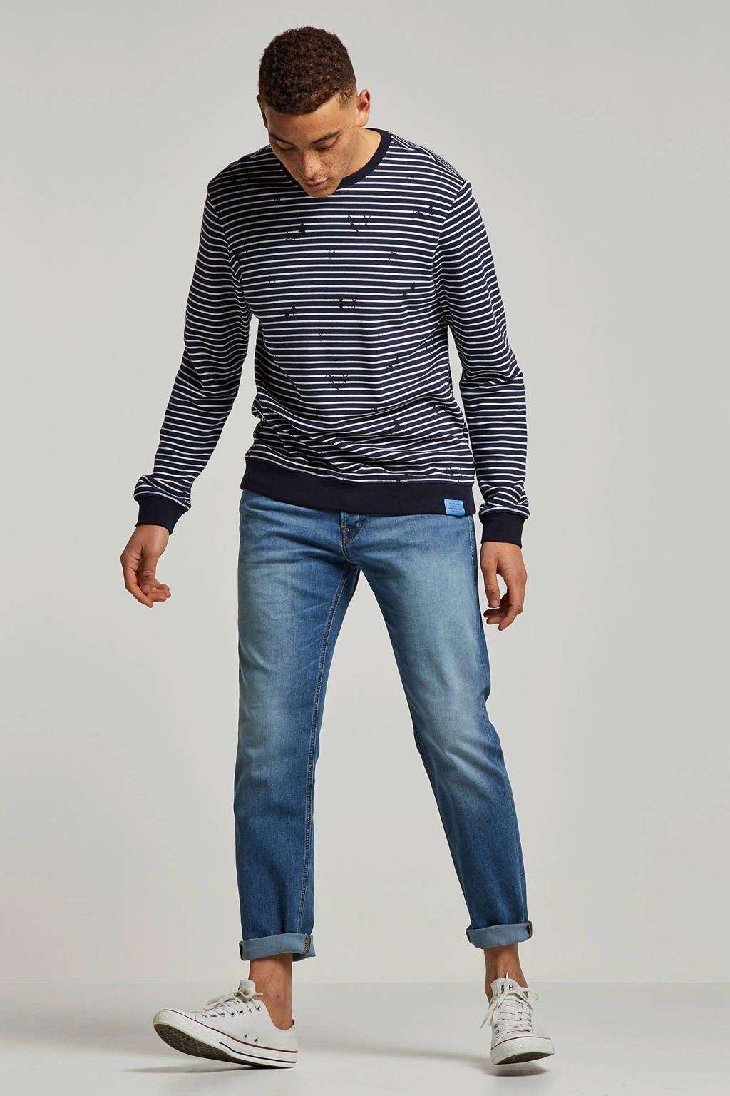 Jack & Jones Originals  regular jeans Mike, Blauw