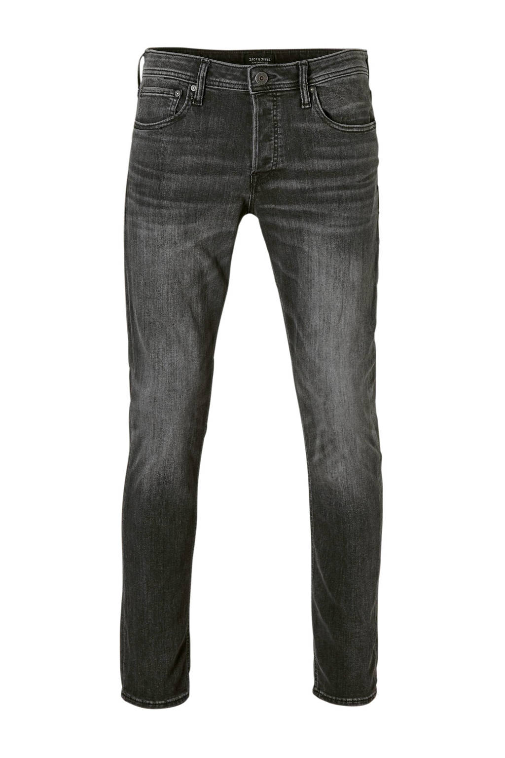 Jack & Jones Originals  regular slim fit jeans Tim, Zwart