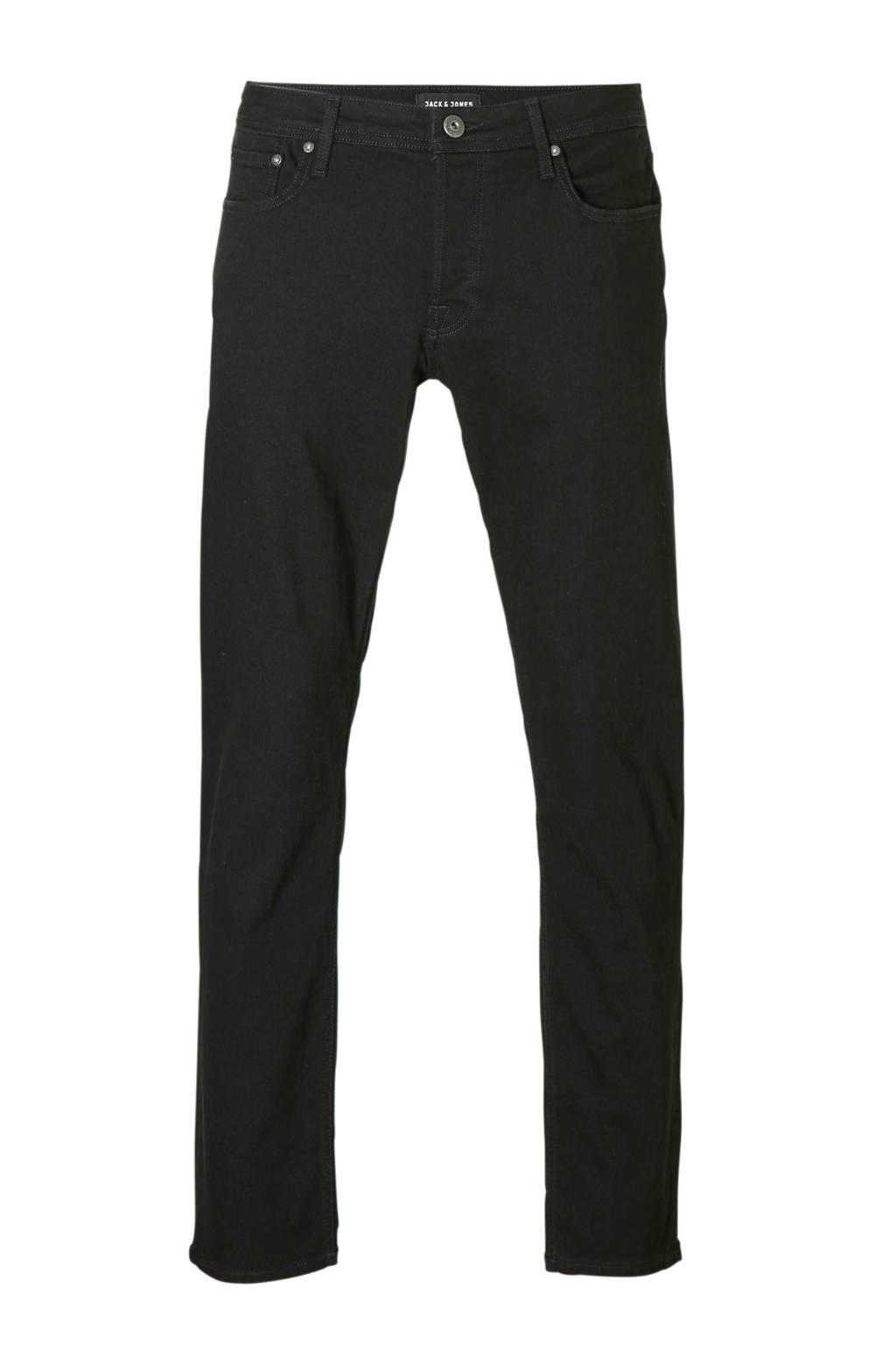 Jack & Jones Originals  regular jeans Mike, Zwart