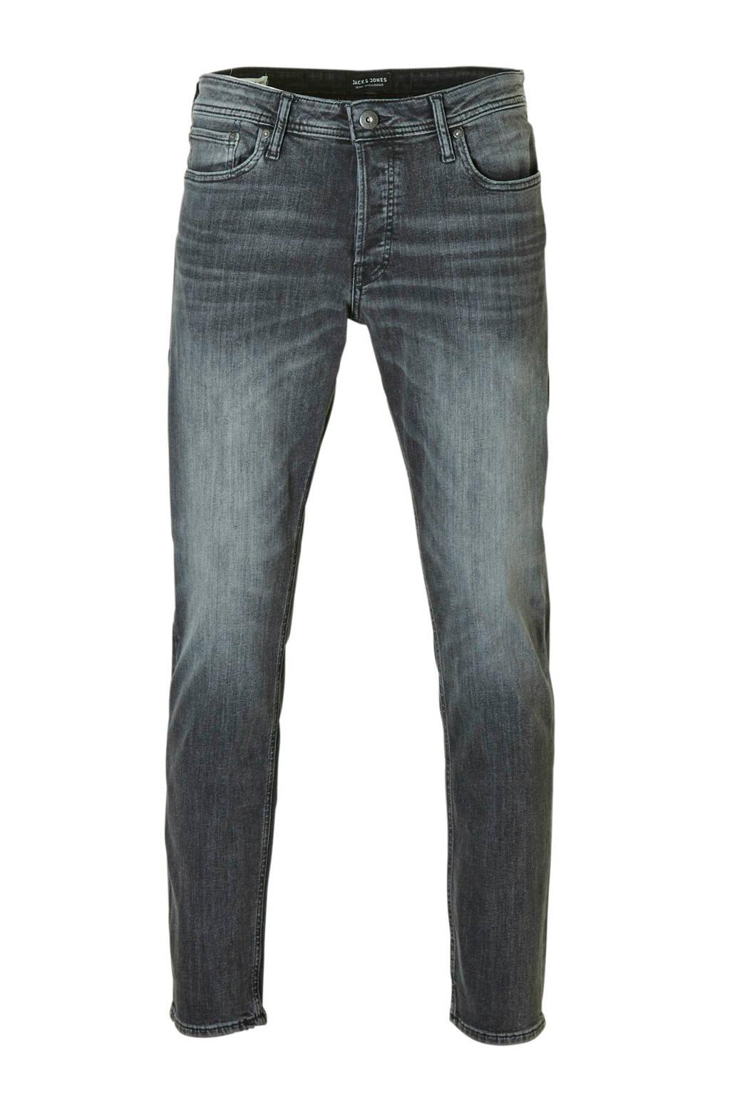 Jack & Jones Originals  regular jeans Mike, Grijs/zwart