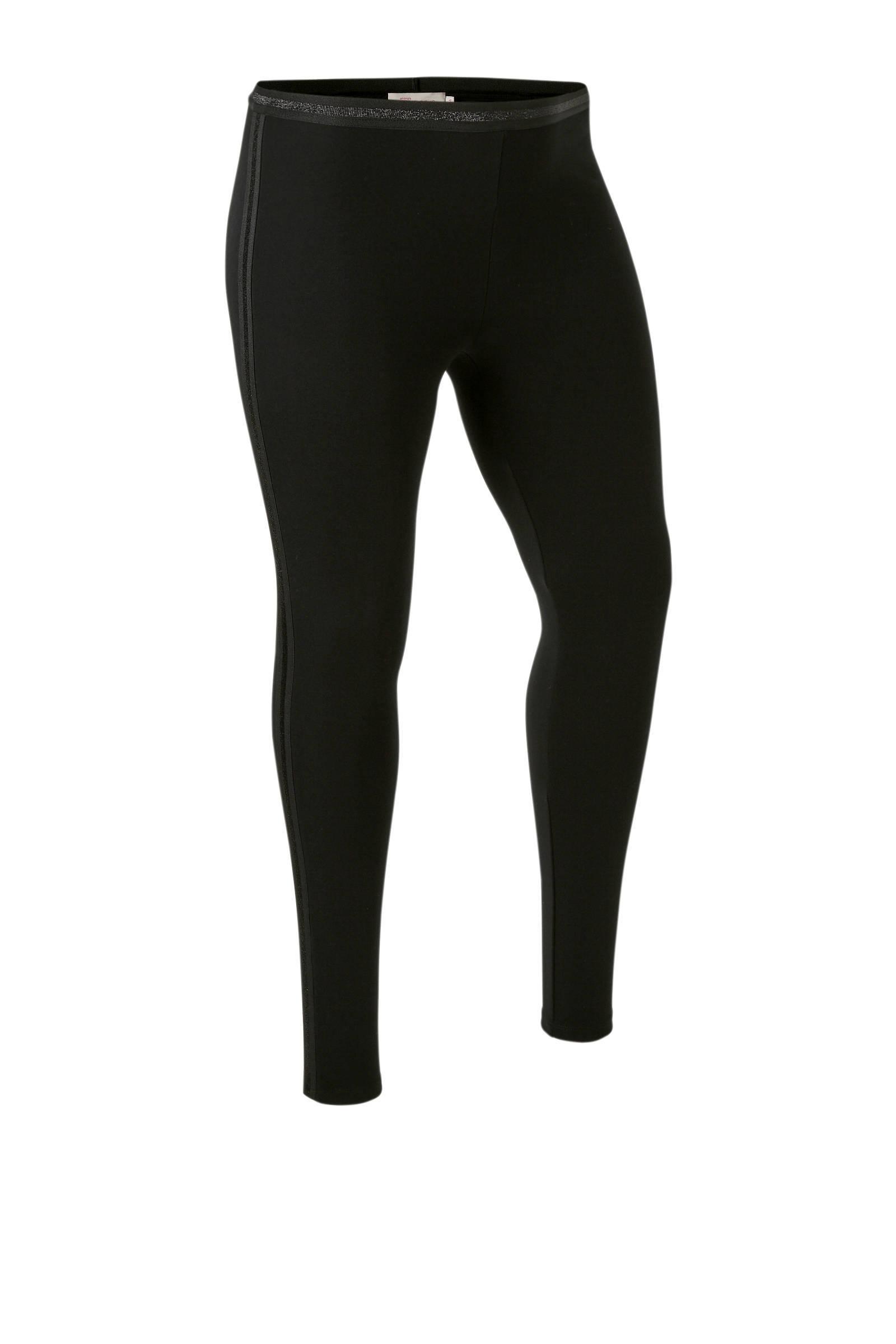 whkmp's great looks legging met bies met lurex streep (dames)